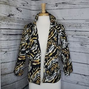 Rafaella Animal Print Jacket